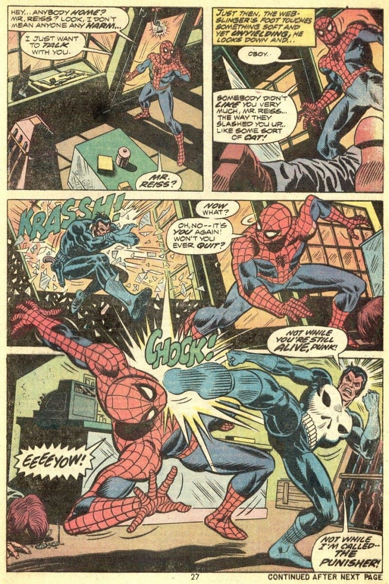 The Punisher Amazing Spider-Man #129 - Page 18