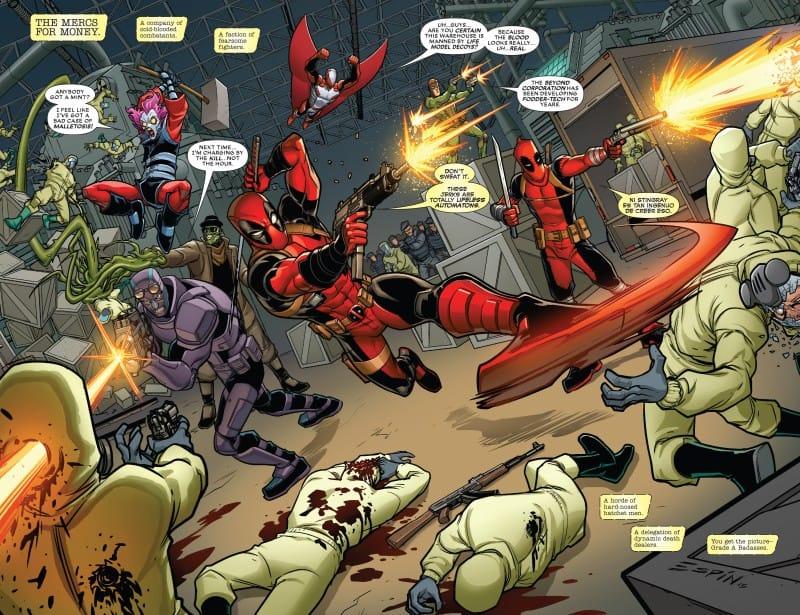 Deadpool & The Mercs For Money fight