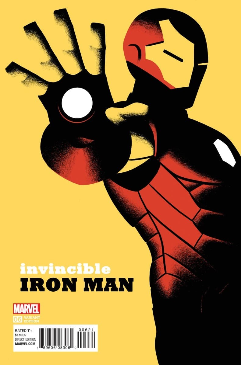 Invincible Iron Man (2015-) 006-000 (Michael Cho variant) (Mastodon)