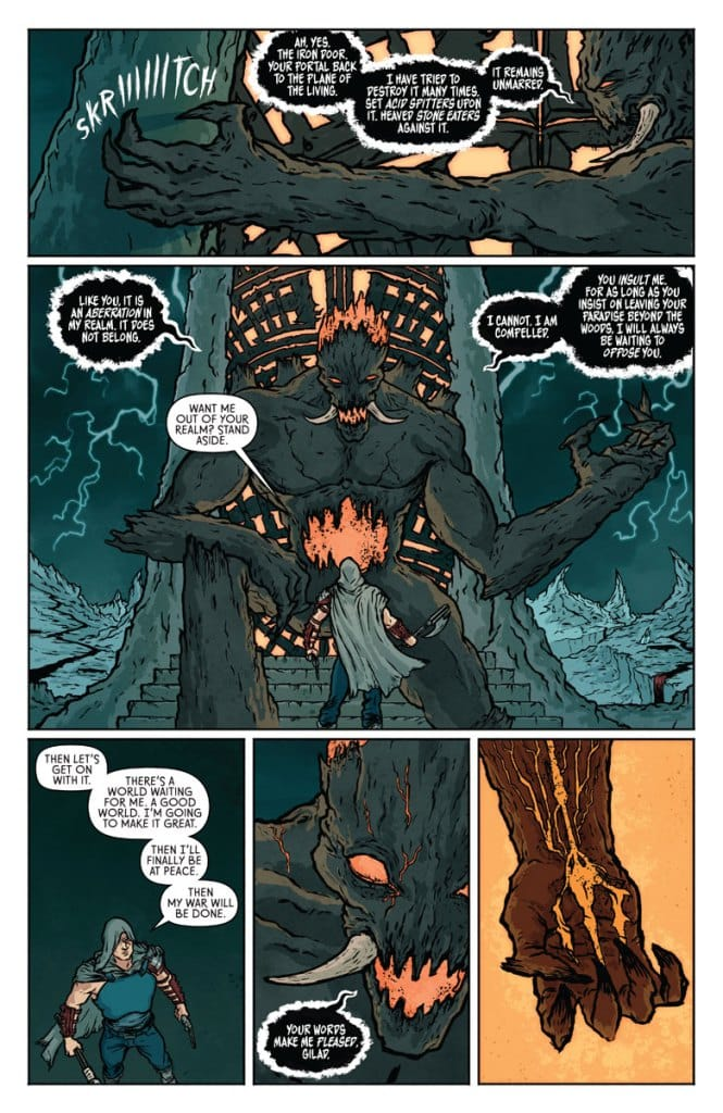 Wrath of the eternal warrior 4 page 1
