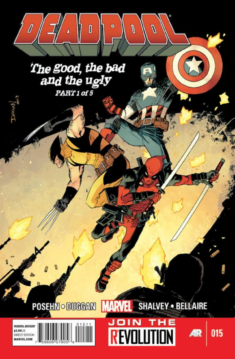"""Deadpool Vol. 3: """"The Good, The Bad, And The Ugly"""" (2014)"""