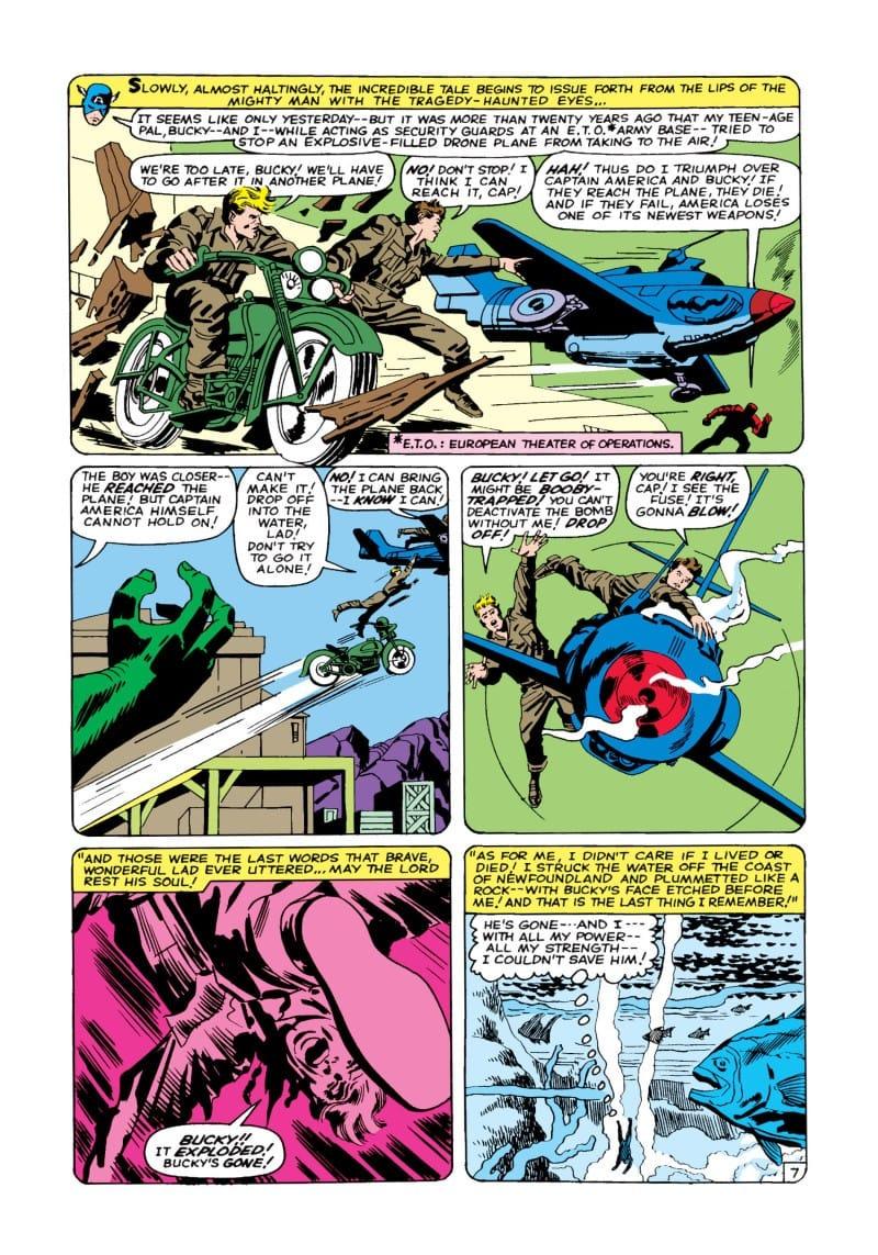 Avengers #4 Bucky avengers members