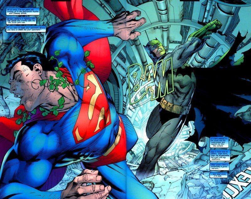 Batman vs Superman Hush