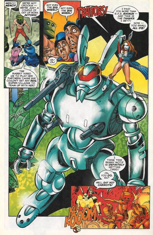 Spider-Man 256 Rabbit Robot