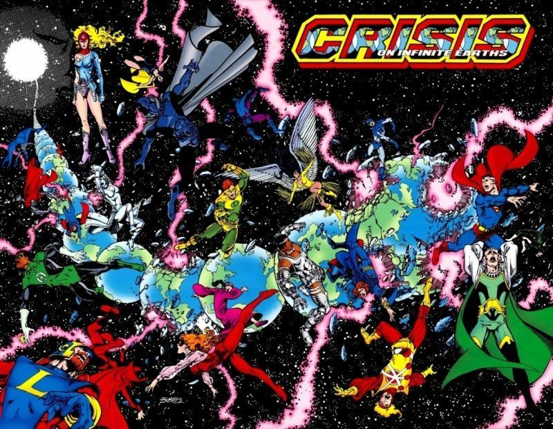 Supergirl Crisis on Inifinte Earth adapatation