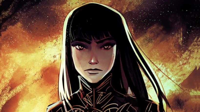 ComicsVerse Podcast episode 66 monstress by marjorie liu
