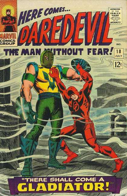 gladiator, daredevil, character spotlight, first appearance