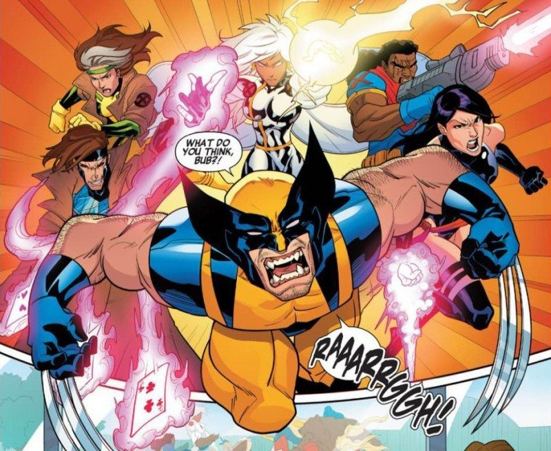 X-men 92, review, #1, Sims, Wolverine,