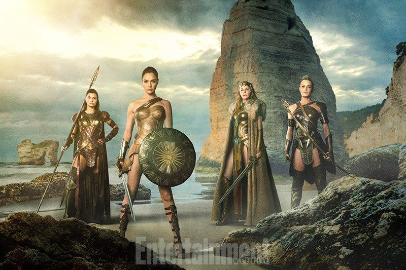 Comic book movie news, wonder woman, cast, photo,