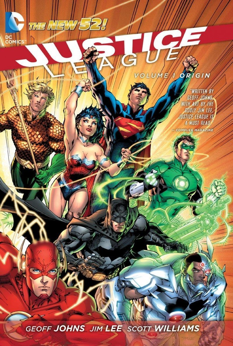 justice league in the new 52