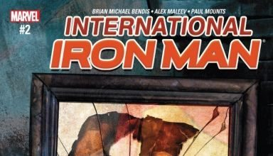 International Iron Man cover
