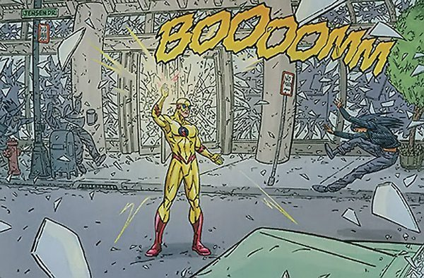 The Flash - Zoom finger snap