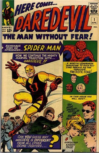 daredevil, karen page, character spotlight, first appearance