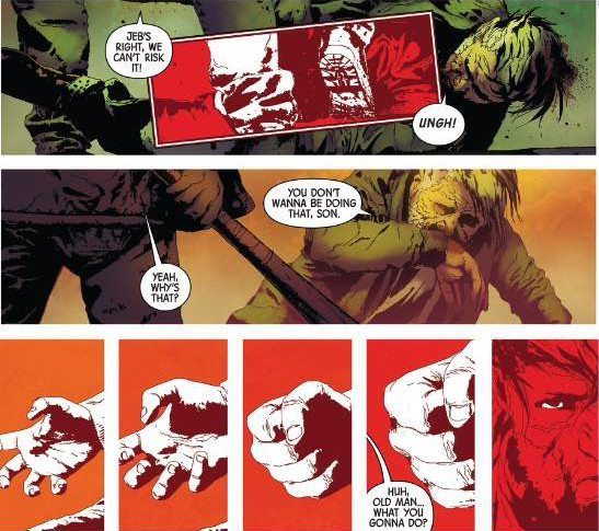 old man logan, jeff lemire, andrea sorrentino, marvel, review