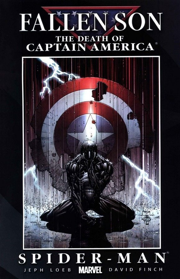 FALLEN SON: THE DEATH OF CAPTAIN AMERICA - SPIDER-MAN by Jeph Loeb and David Finch