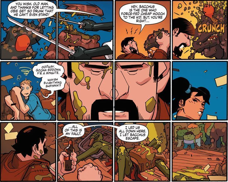 ARCHER AND ARMSTRONG #3