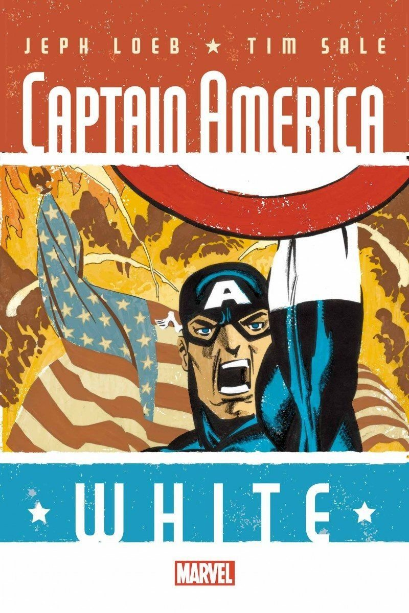 Captain America: White #1 by Jeph Loeb and Tim Sale