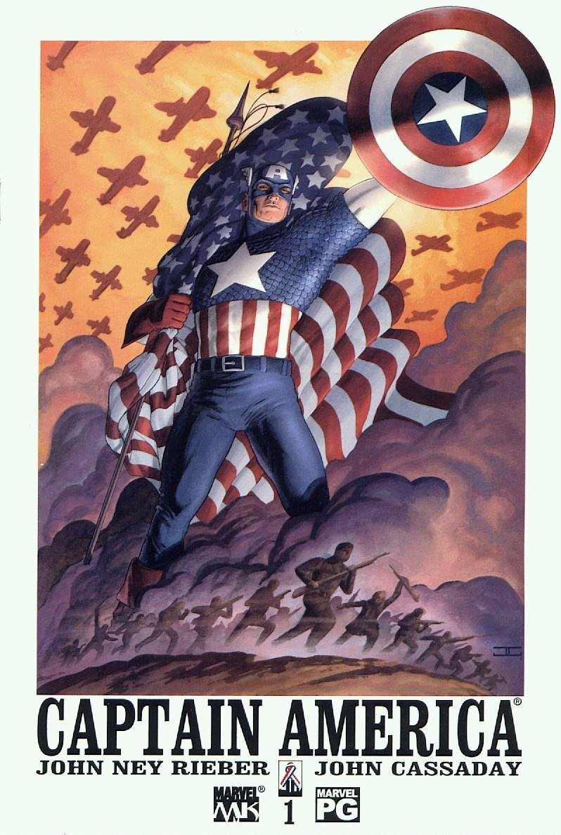 Captain America vol 4 by John Ney Rieber and John Cassaday