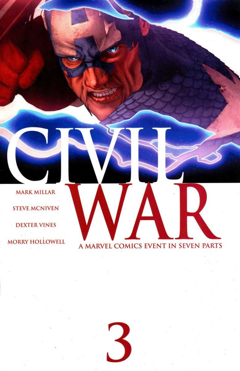 Captain America Civil War Comic