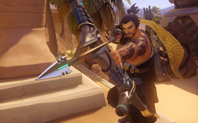 overwatch, hanzo, character spotlight, lore, strategy