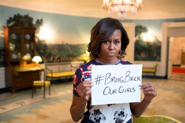 Sorry Michelle, you can't defeat terrorists with a hashtag