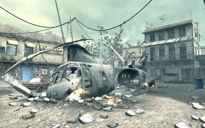 call of duty, modern warfare, crash, map, team deathmatch