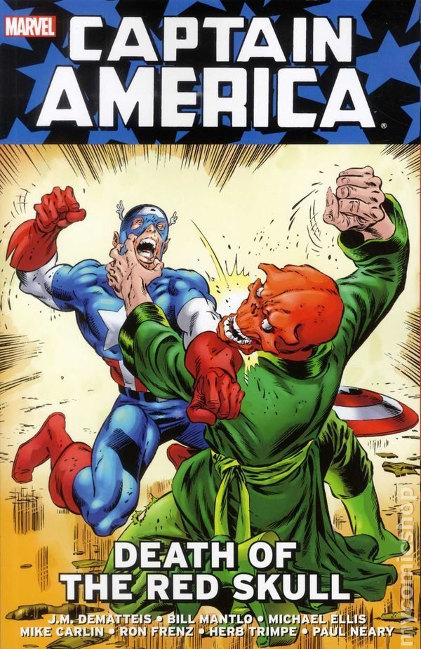 Captain America: Death of red skull
