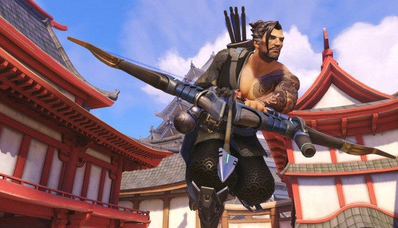 overwatch, hanzo, character spotlight, blizzard, lore, strategy