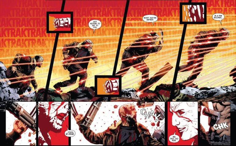 old man logan, review, marvel, Jeff Lemire, Andrea Sorrentino
