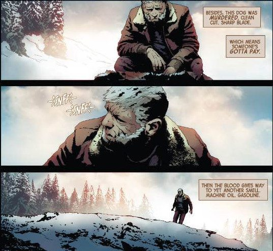 old man logan, review, Jeff Lemire, Andrea Sorrentino, Marvel