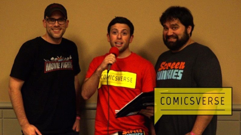 Brad Sloan interviews Screen Junkies at Wizard World Philadelphia 2016-1x1