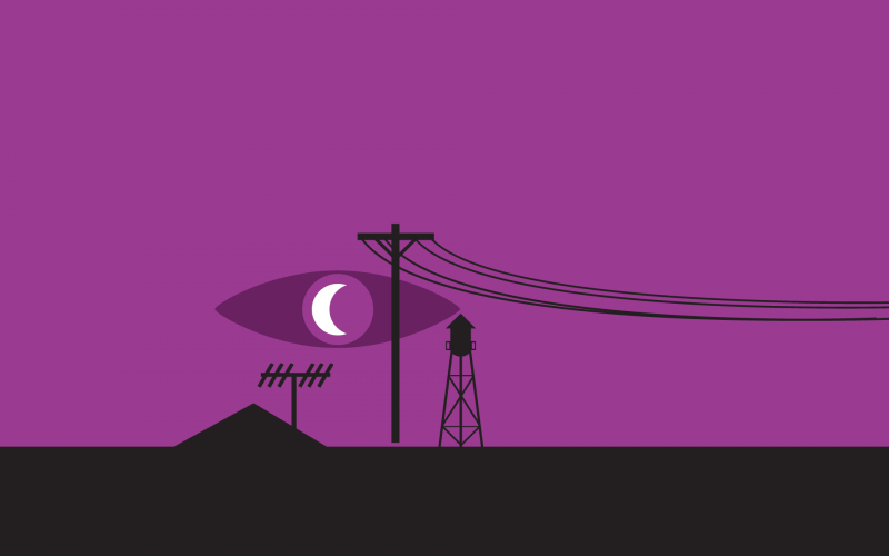 Logo for Welcome to Night Vale