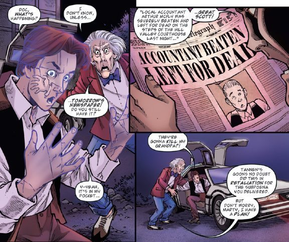 Back to the Future: Citizens Brown #2 Image 1