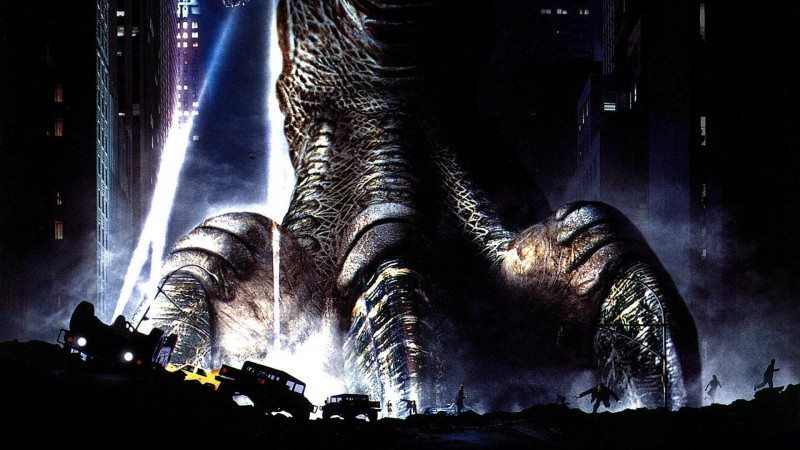 Movie poster for GODZILLA 1998