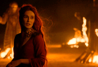 Melisandre worships Azor Ahai, the Lord of Light