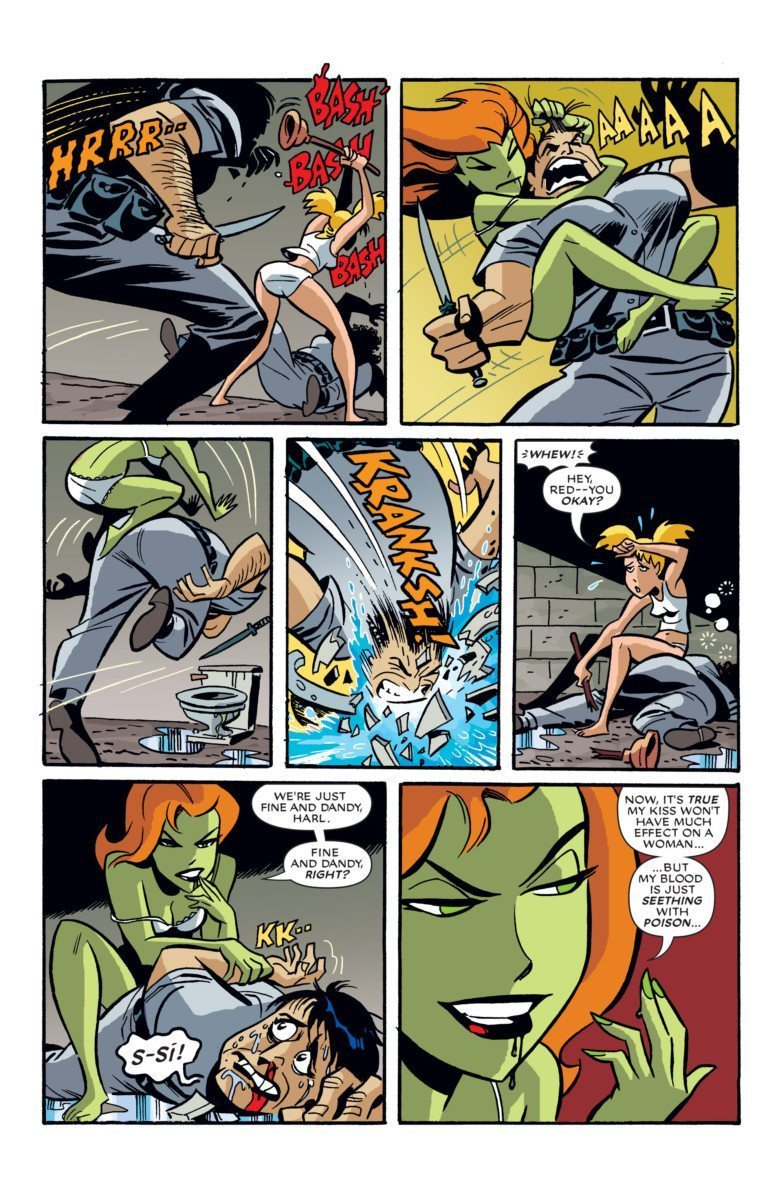 Harley and Ivy #2 Plunger