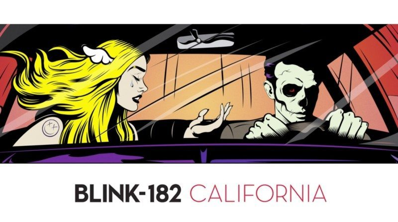 blink-182 california