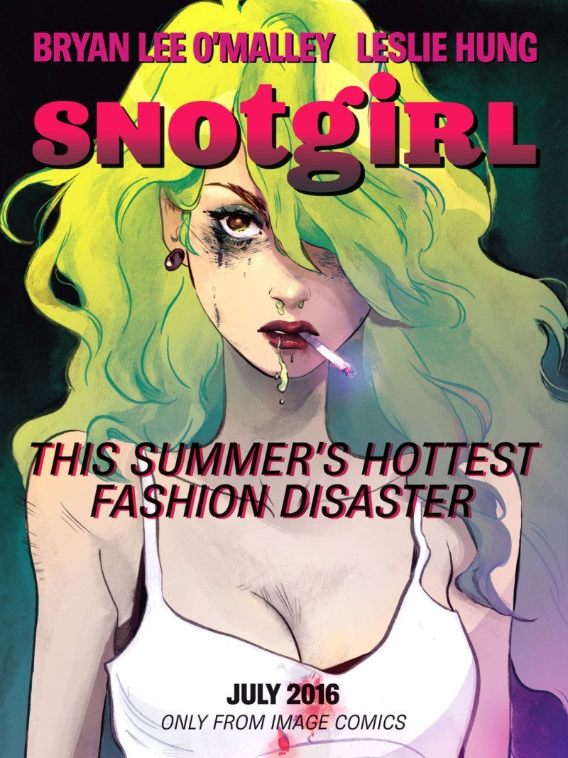 """""""Snotgirl #1"""" delivers a unique blend of gross and chic."""