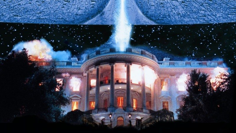 independence day, white house, destruction, blockbusters,