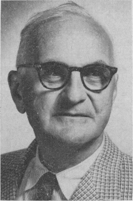 Dr. Donald Ewen Cameron, one of the head MKUltra scientists