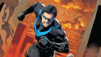 DC Comics Nightwing issue #4 cover rebirth