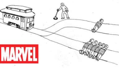 trolley problem in marvel