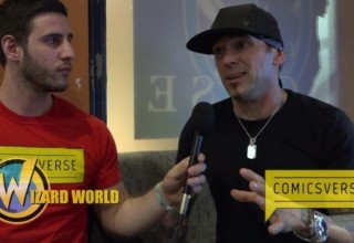 chris massari interviews jason david frank at wizard world philadelphia 2016 by ComicsVerse