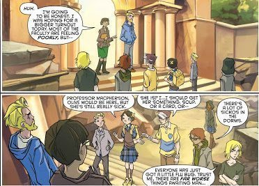 gotham academy annual panel 2