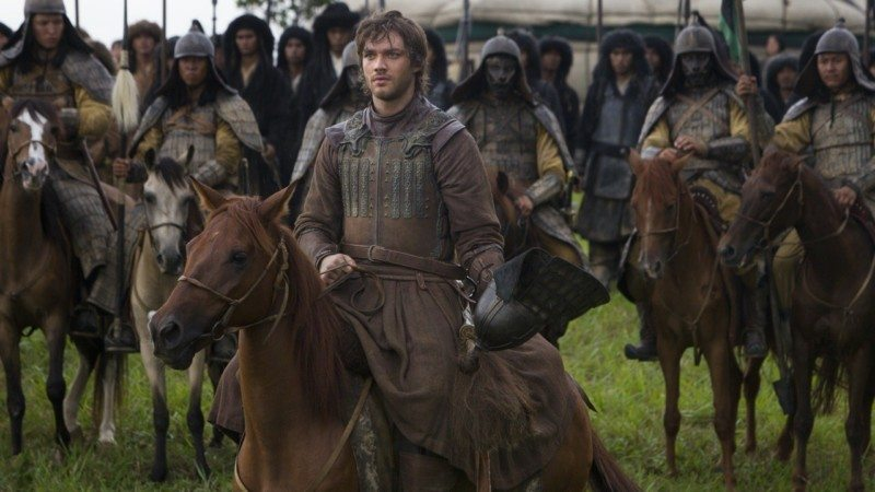 "Lorenzo Richelmy (C) in a scene from Netflix's ""Marco Polo."" Photo Credit: Phil Bray for Netflix. EP8"