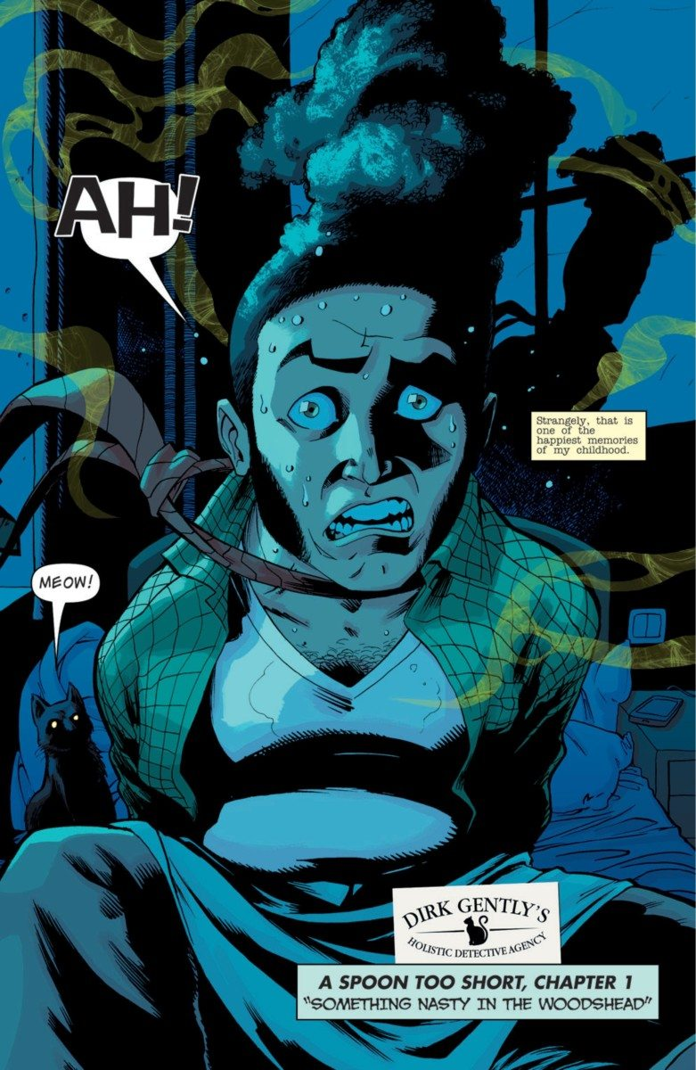 Dirk Gently - Dirk Gently's Big Holistic Graphic Novel