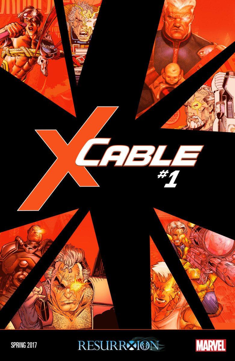 cable #1 x-men comics