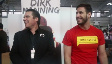Dirk Manning interview at New York Comic Con 2016