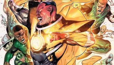 HAL JORDAN AND THE GREEN LANTERN CORPS #7 Review: Jordan Vs Sinestro