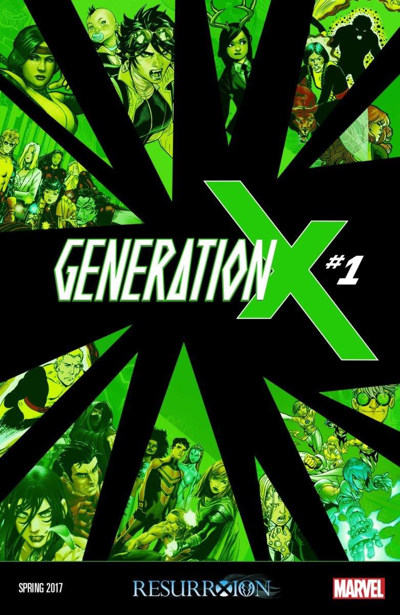 x-men comics: GENERATION X #1